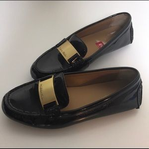 Calvin Klein Patent Leather Loafers